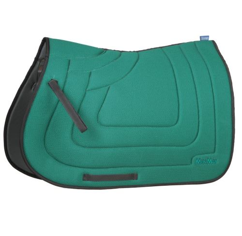 QUILTED SQUARE saddle pad - low padding