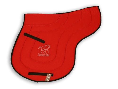 SHAPED ALL PURPOSE saddle pad - low padding