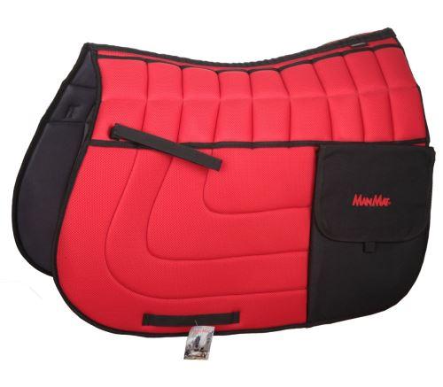 TRAIL saddle pad with pockets - high padding