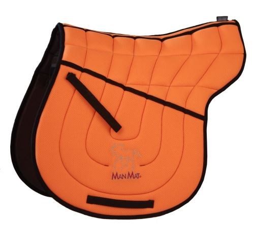 SHAPED ALL PURPOSE saddle pad - high padding